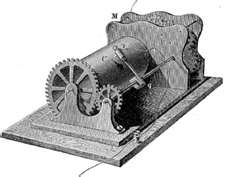 Frederick Bakewell's Fax Machine