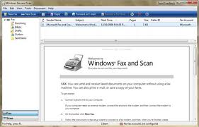 Windows Fax and Scan in Windows 8 and 8.1