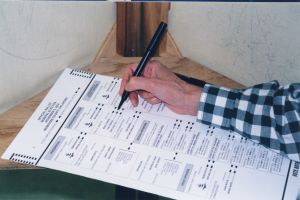 election ballot
