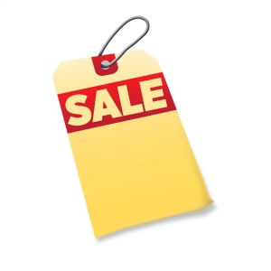 Printer and Fax Sale Tag