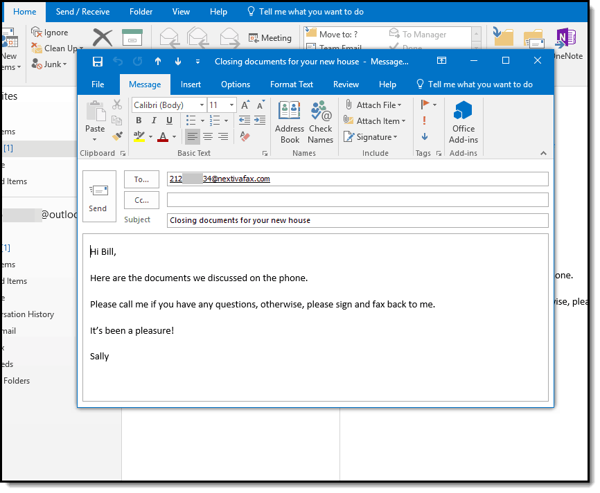 How to fax with Microsoft Outlook | Fax Authority